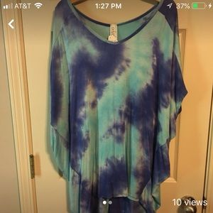 Tops - Tie-Dye top new with tags